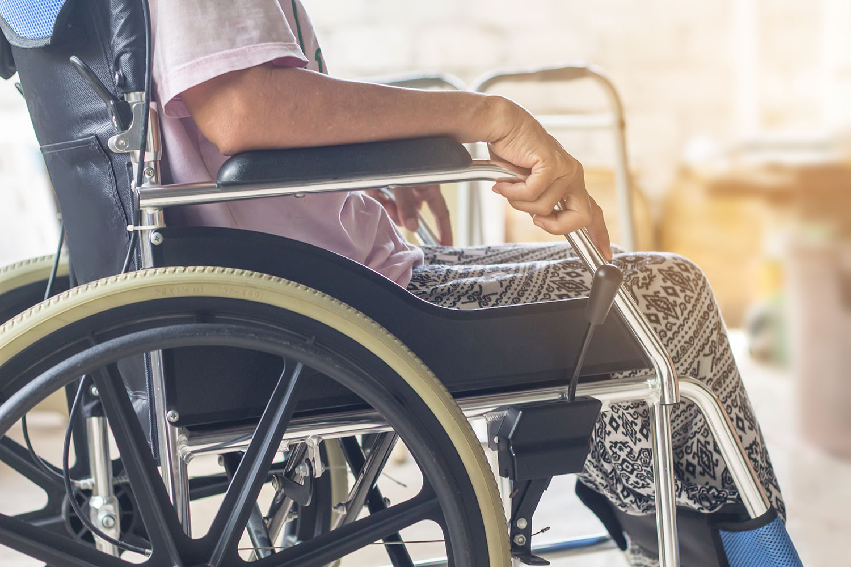 Sclerosi multipla sedia a rotelle